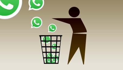 Todas las formas de recuperar conversaciones y mensajes borrados en WhatsApp