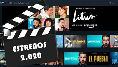 Todos los estrenos en Amazon Prime Video que no te puedes perder en 2020
