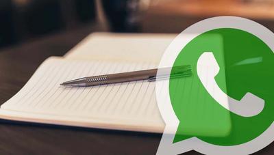 Utiliza WhatsApp como bloc de notas con este truco: lista de la compra, recordatorios…