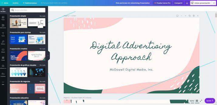 Canva - crear presentaciones