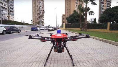 Vodafone realiza el primer vuelo mundial de drones 5G sobre una ciudad