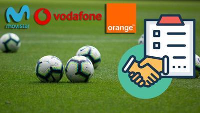 Comprar el fútbol podría ser más barato para Orange y Vodafone a partir de abril