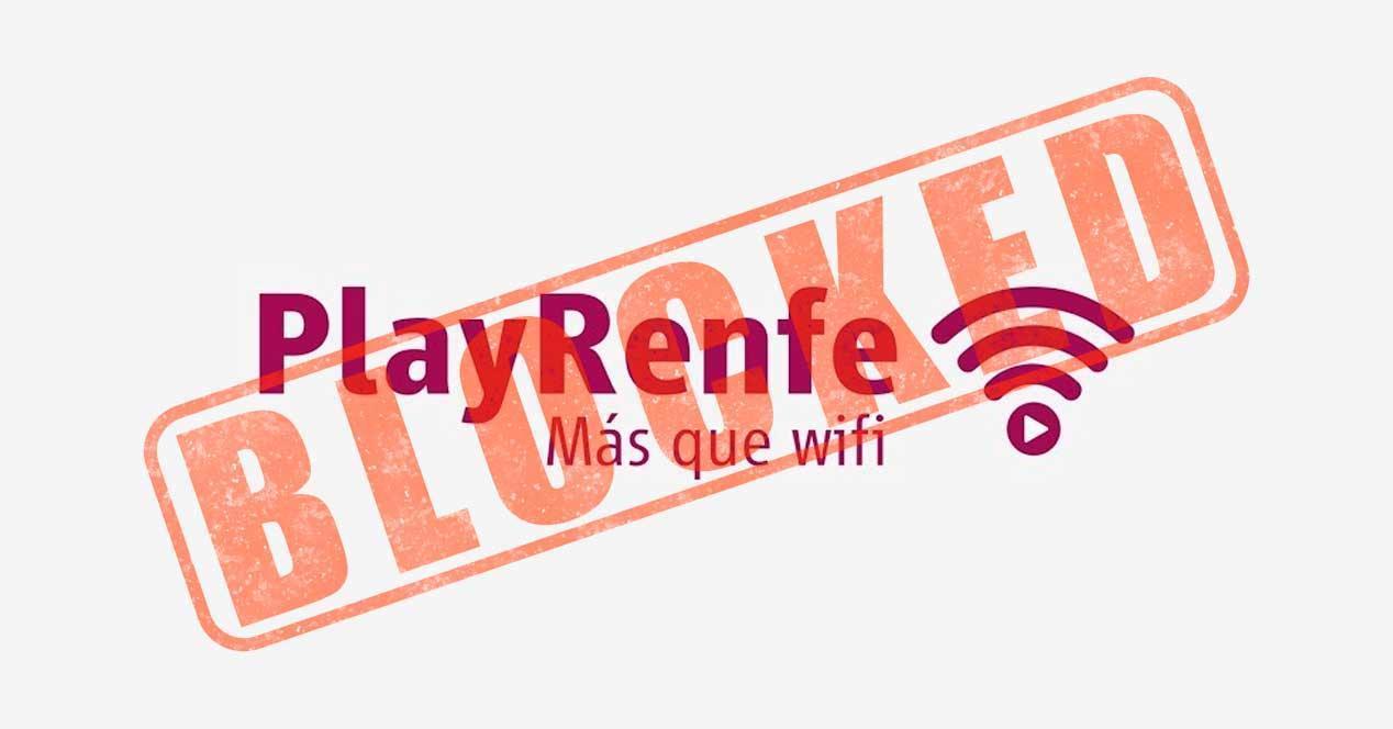 renfe wifi bloqueo