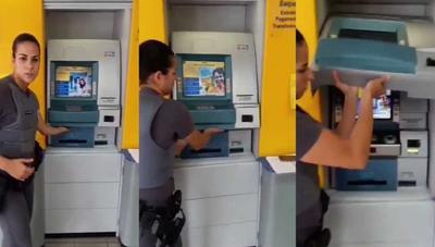 El robo de cajeros sube de nivel: así sustituyen la máquina entera