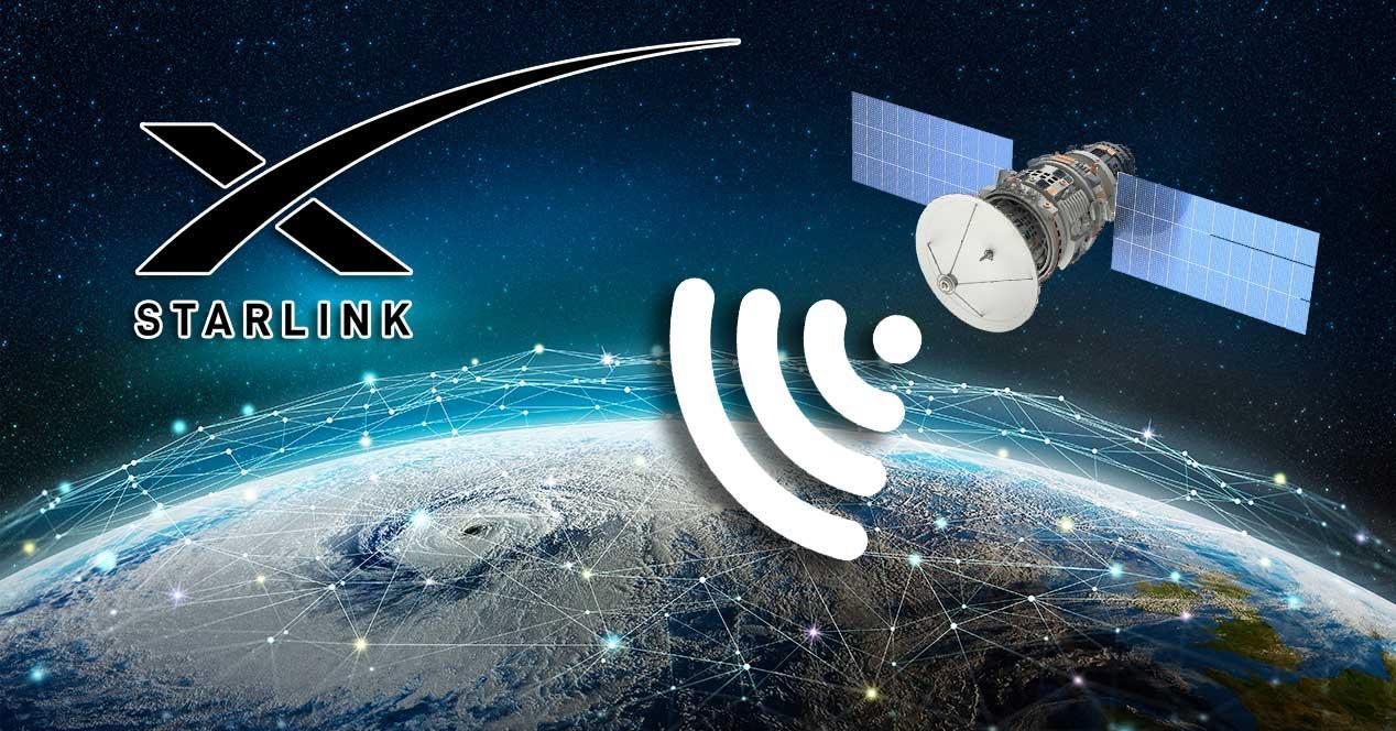starlink internet por satelite