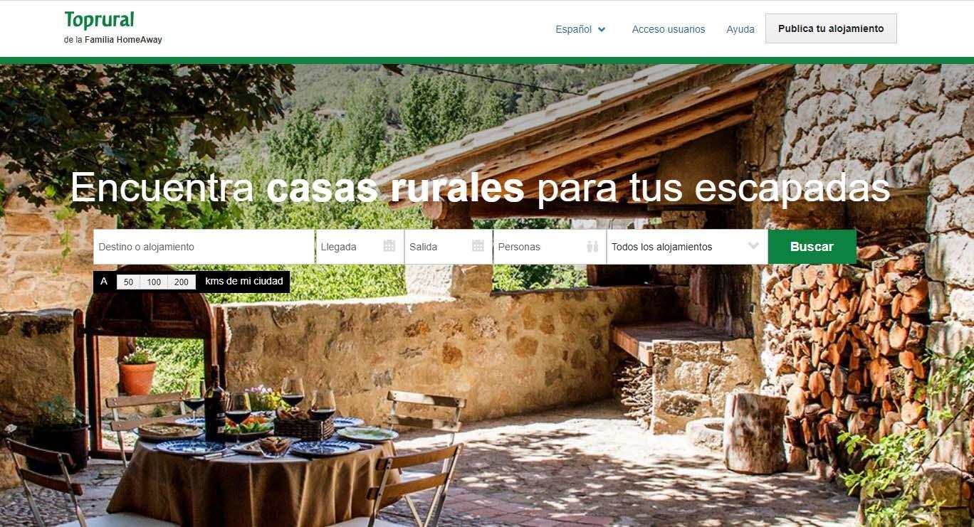 Las Mejores Webs Para Alquilar Apartamentos Y Casas Rurales