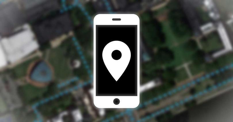ubicacion movil gps satelite imagen