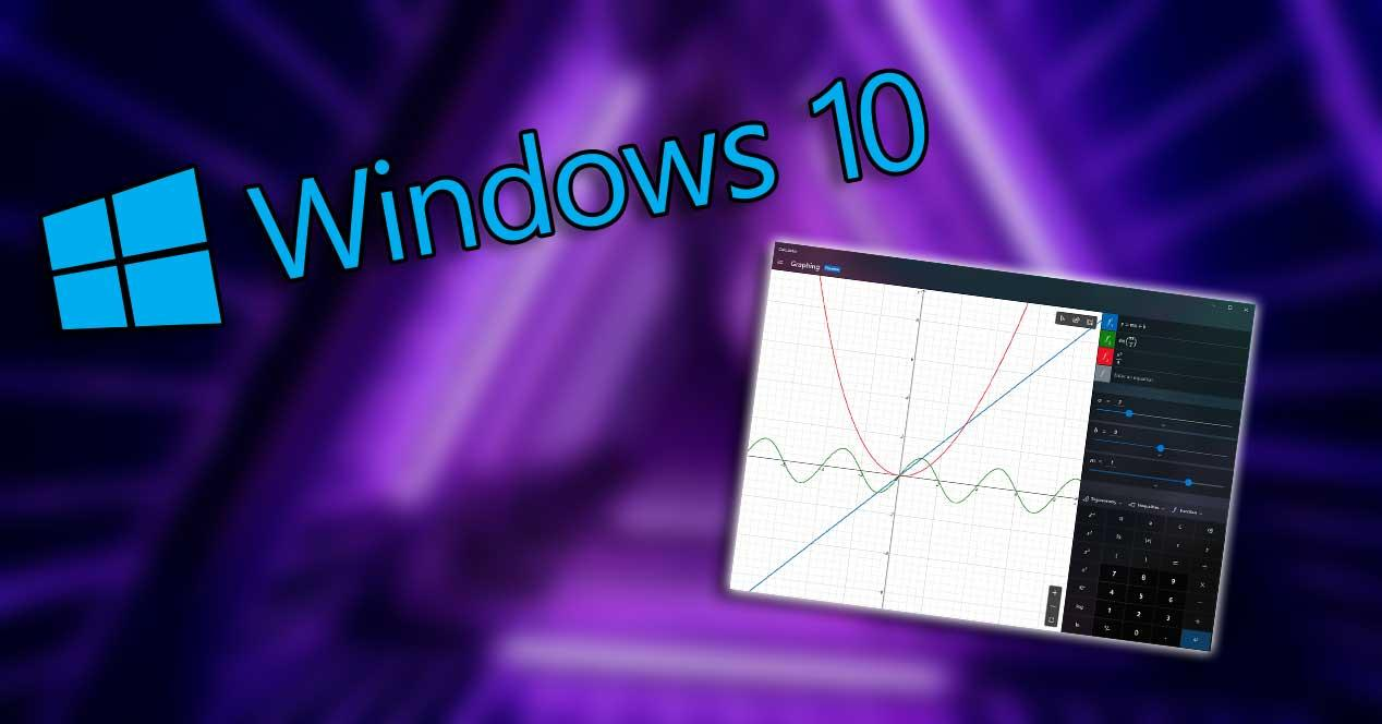 windows 10 calculadora grafica