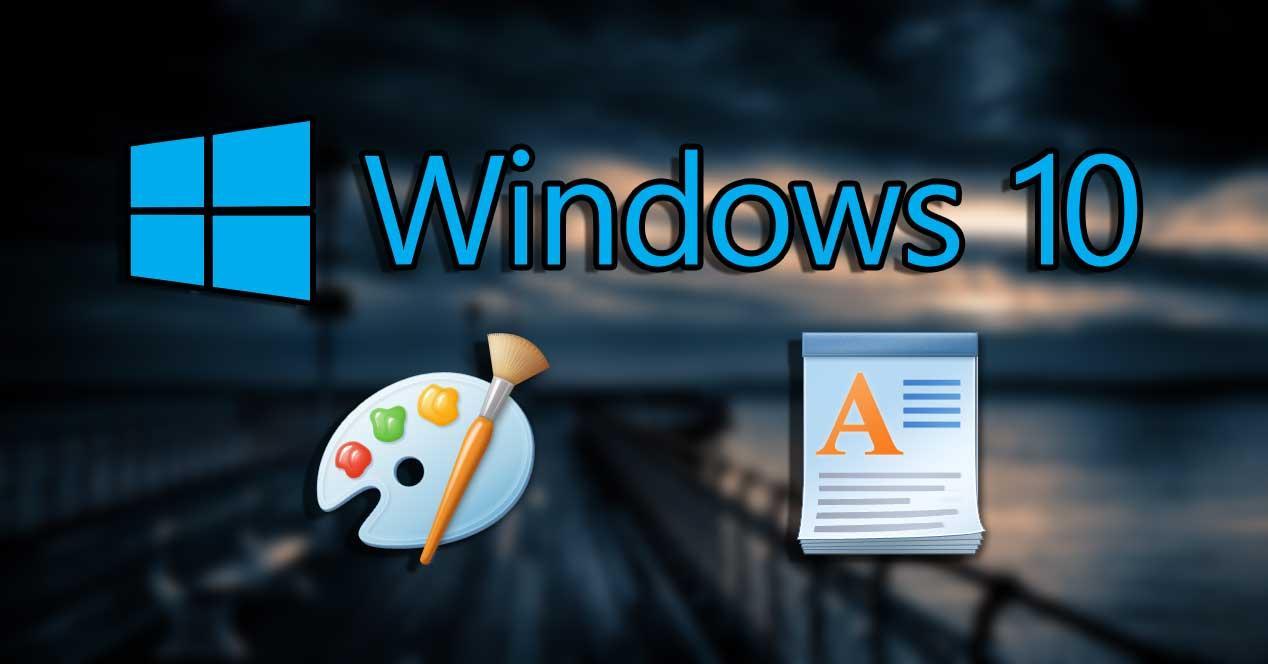 windows 10 paint wordpad