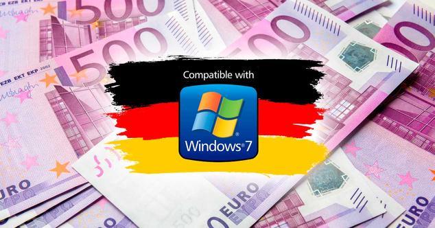Ver noticia 'El Gobierno alemán pagará casi 1 millón de euros por no actualizar a Windows 10 a tiempo'