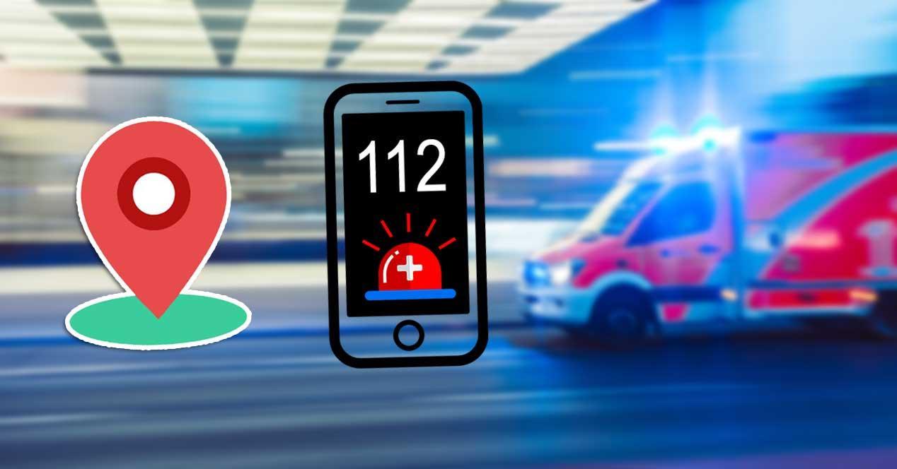 112 emergencia ubicacion