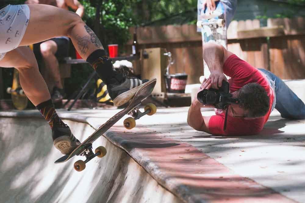 cámara réflex vs mirrorless rafaga