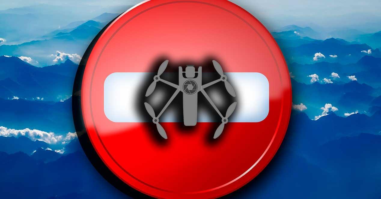 Denuncias para volar drones
