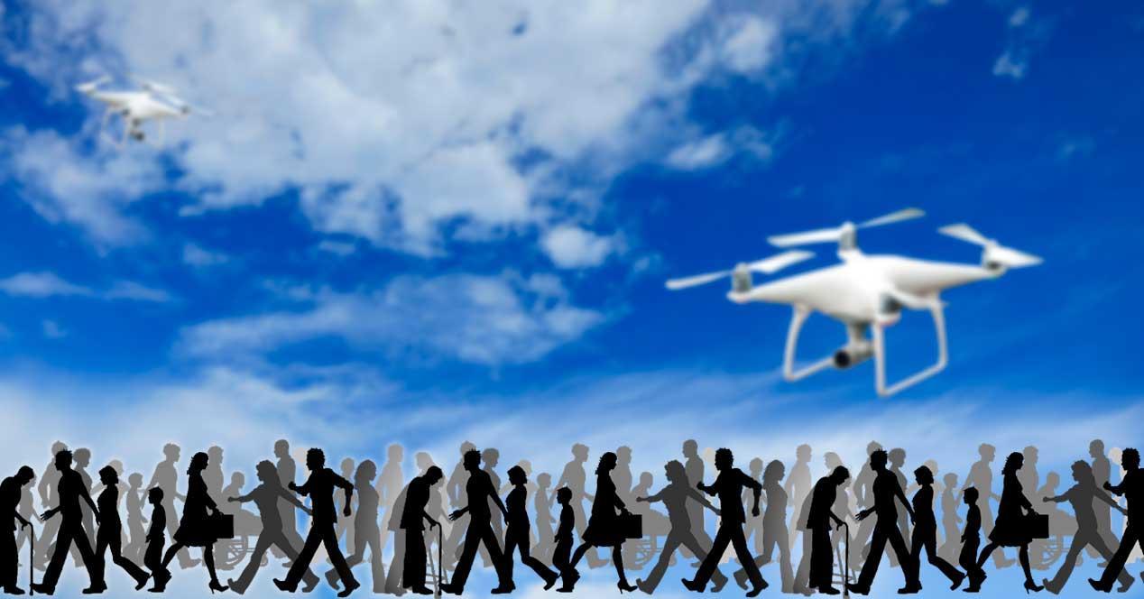 Drones sin licencia