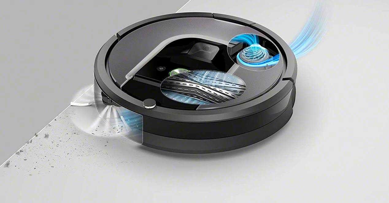 mejores robots aspiradores: - Roomba960