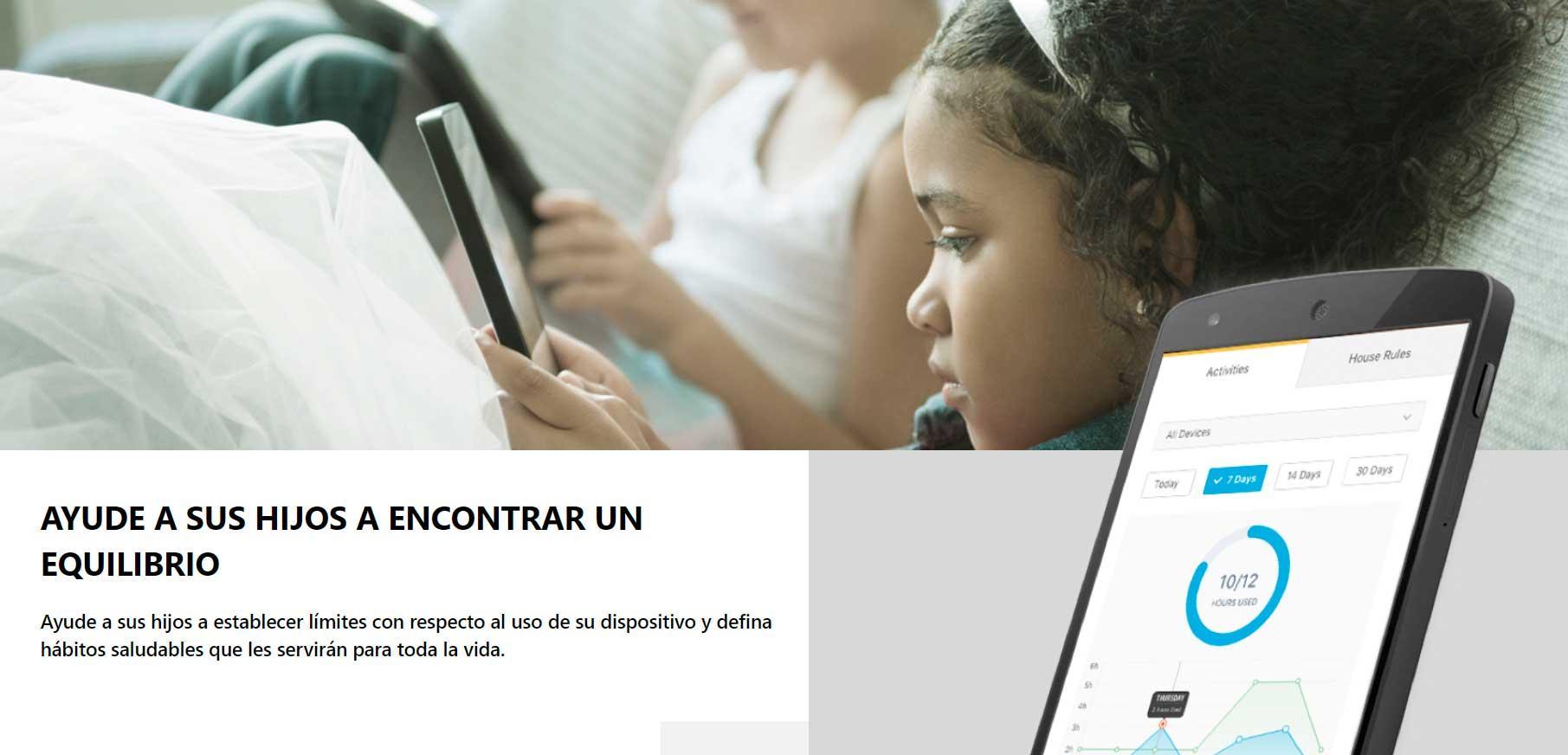 Norton - Herramientas de control parental