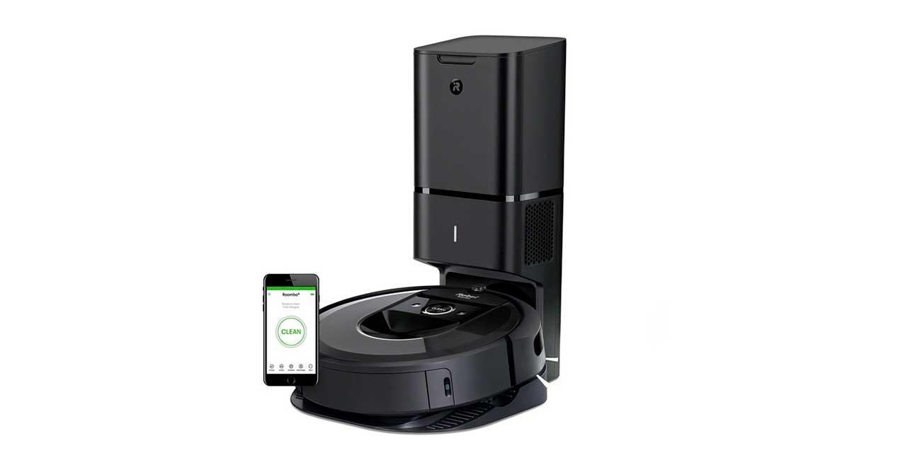 Mejores robots aspiradores - Roomba i7 Plus