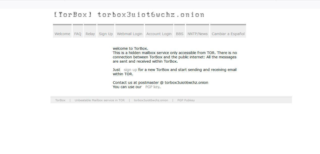 Torbox en la Deep Web