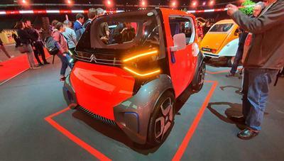 AMI, el eléctrico de Citroën que no necesita carnet