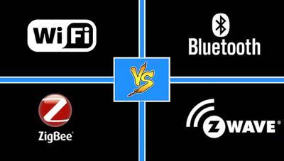 Tecnologías inalámbricas: diferencias y usos de WiFi, Bluetooth, Zigbee y Z-Wave