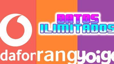 Orange vs Vodafone vs Yoigo ¿dónde sale más barato tener fibra y datos ilimitados?