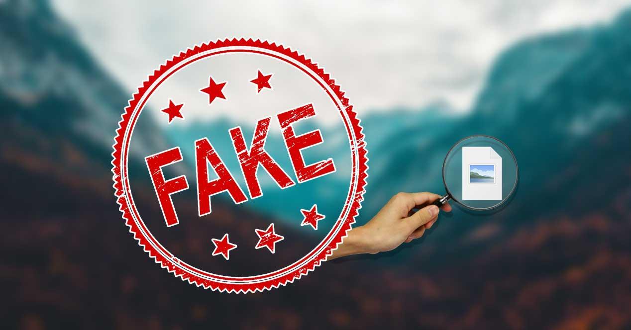 detectar imagen falsa fake
