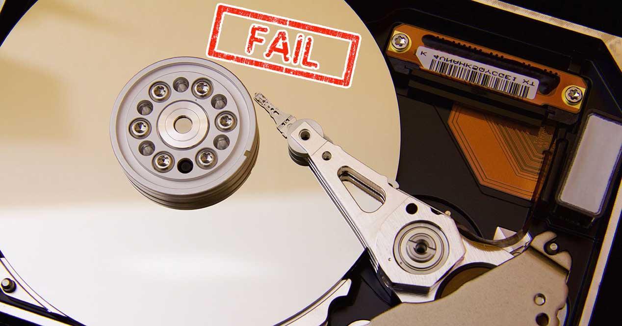 disco duro error