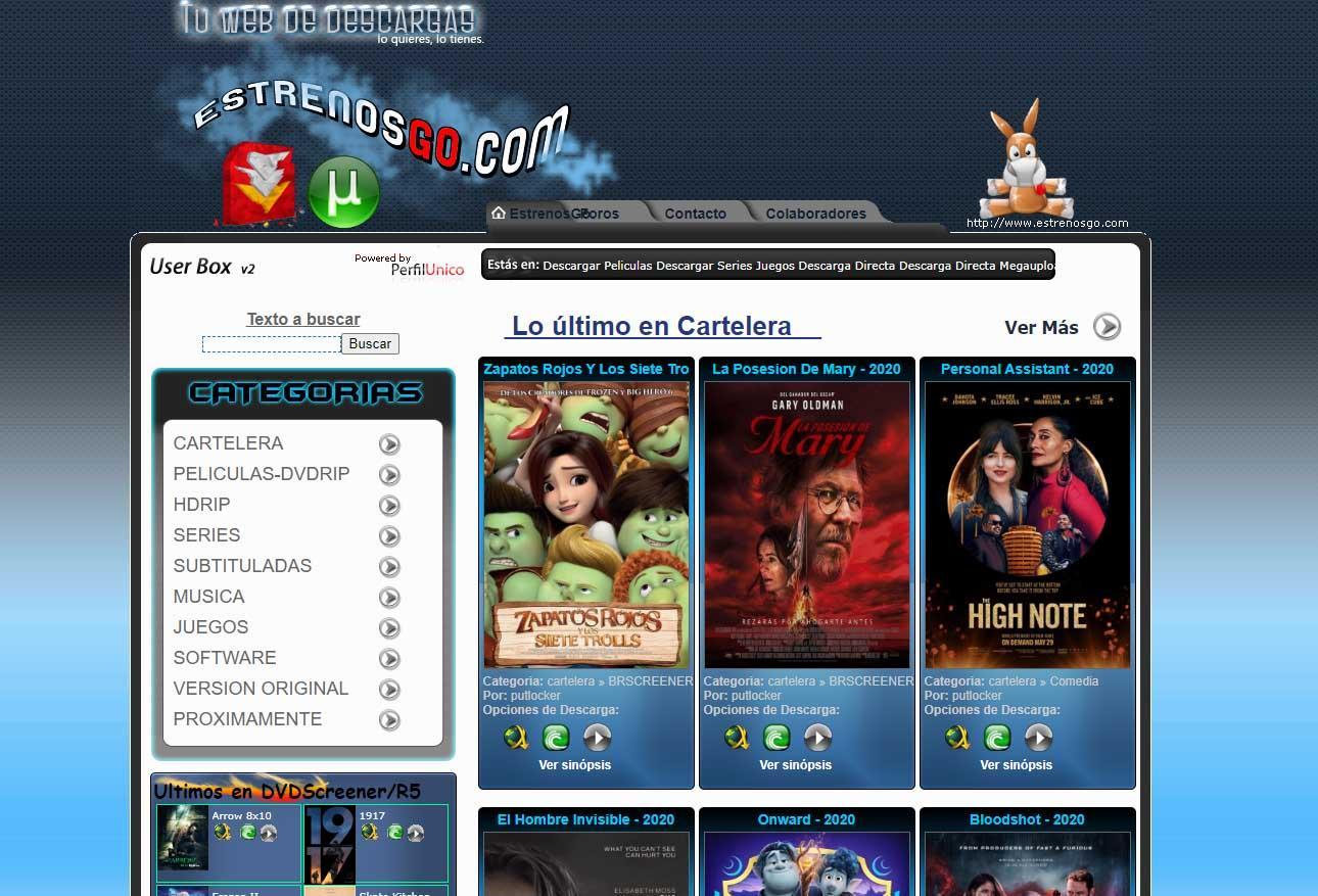 Descargar Torrents 2021 Mejores Páginas De Películas Y Series Inglés Y Español