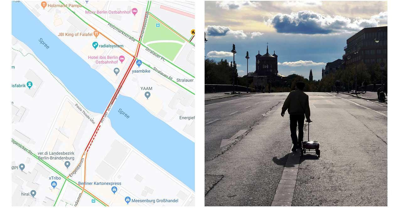 google maps carrito 99 moviles
