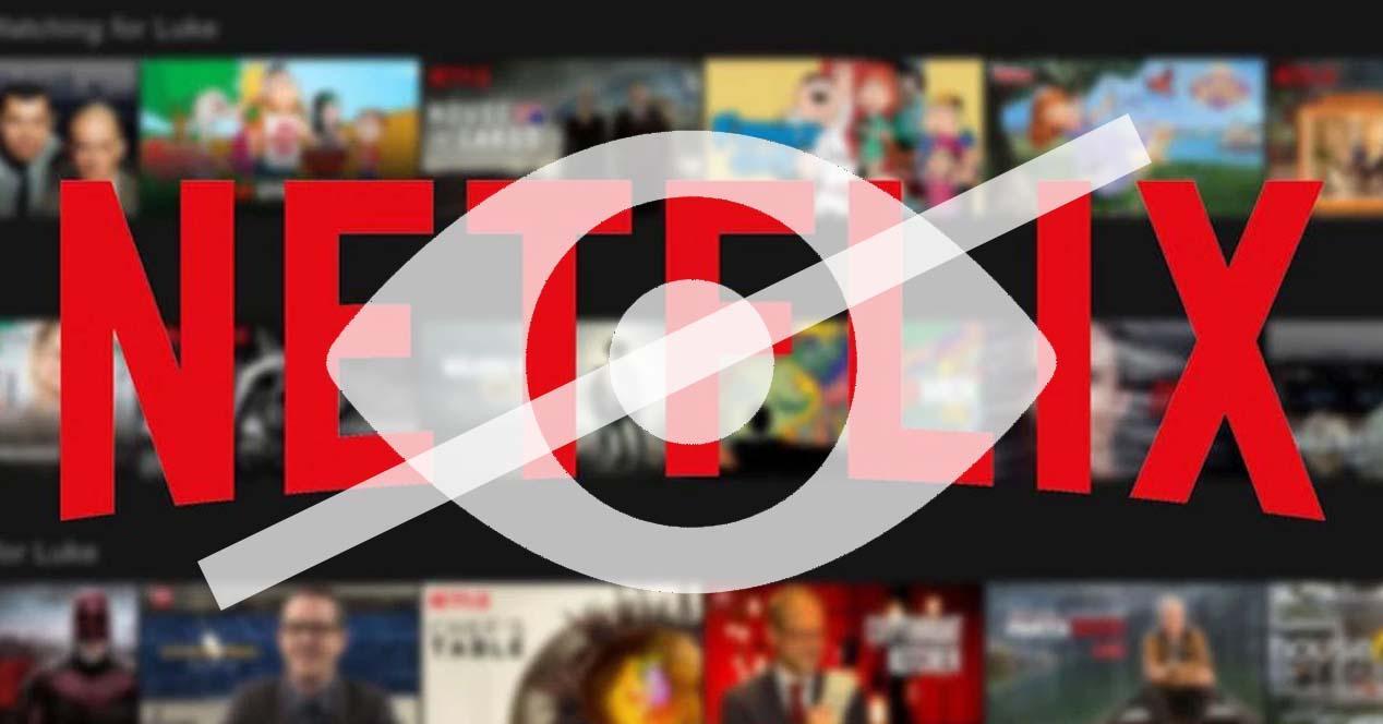 Ver noticia 'Ver Oculta las series y películas del visionado de Netflix para que nadie sepa lo que has visto'