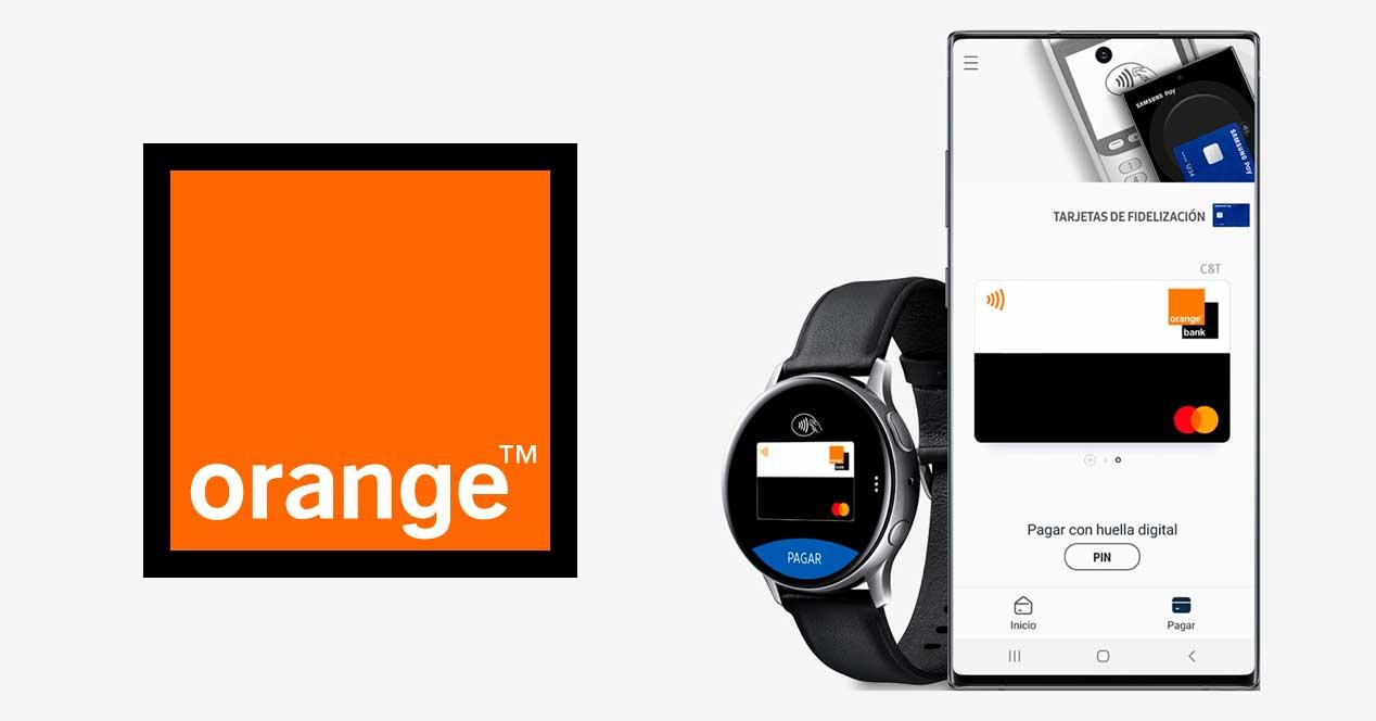 orange bank samsung pay