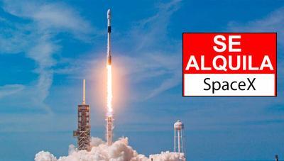 SpaceX te permite «alquilar» sus cohetes desde 1 millón de dólares