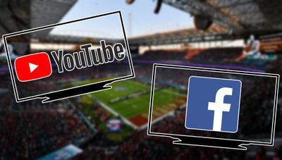 Millones de personas vieron gratis la Super Bowl en YouTube y Facebook de manera ilegal