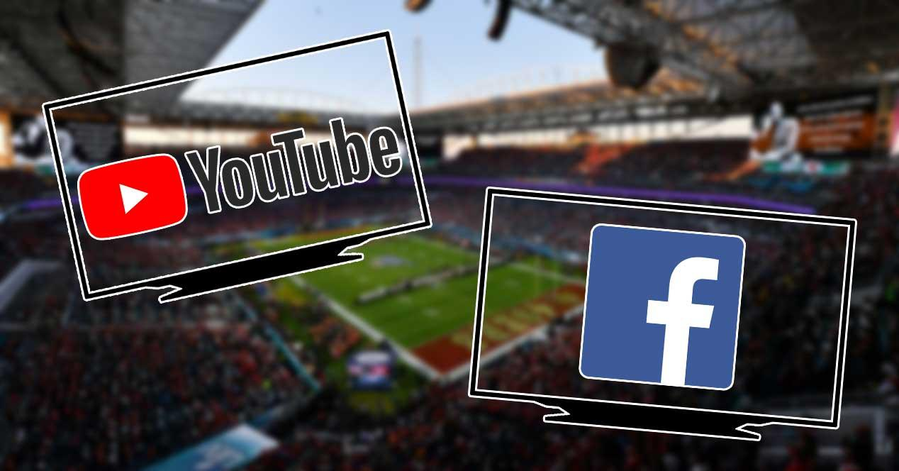 super bowl facebook youtube