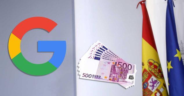 tasa google españa