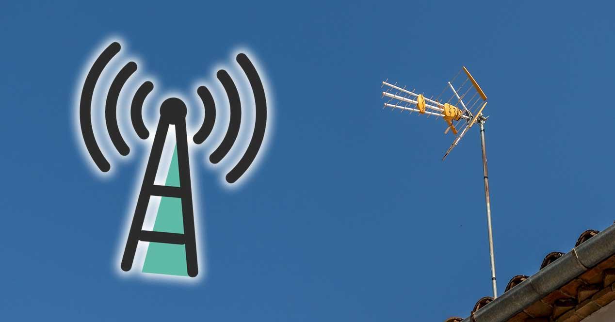 tdt antena tv frecuencia señal