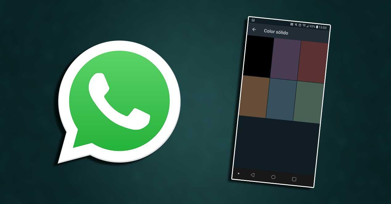 whatsapp fondos pantalla oscuros solidos