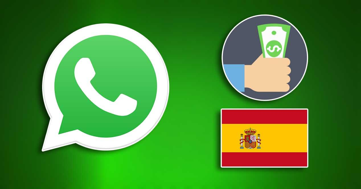 whatsapp pay españa