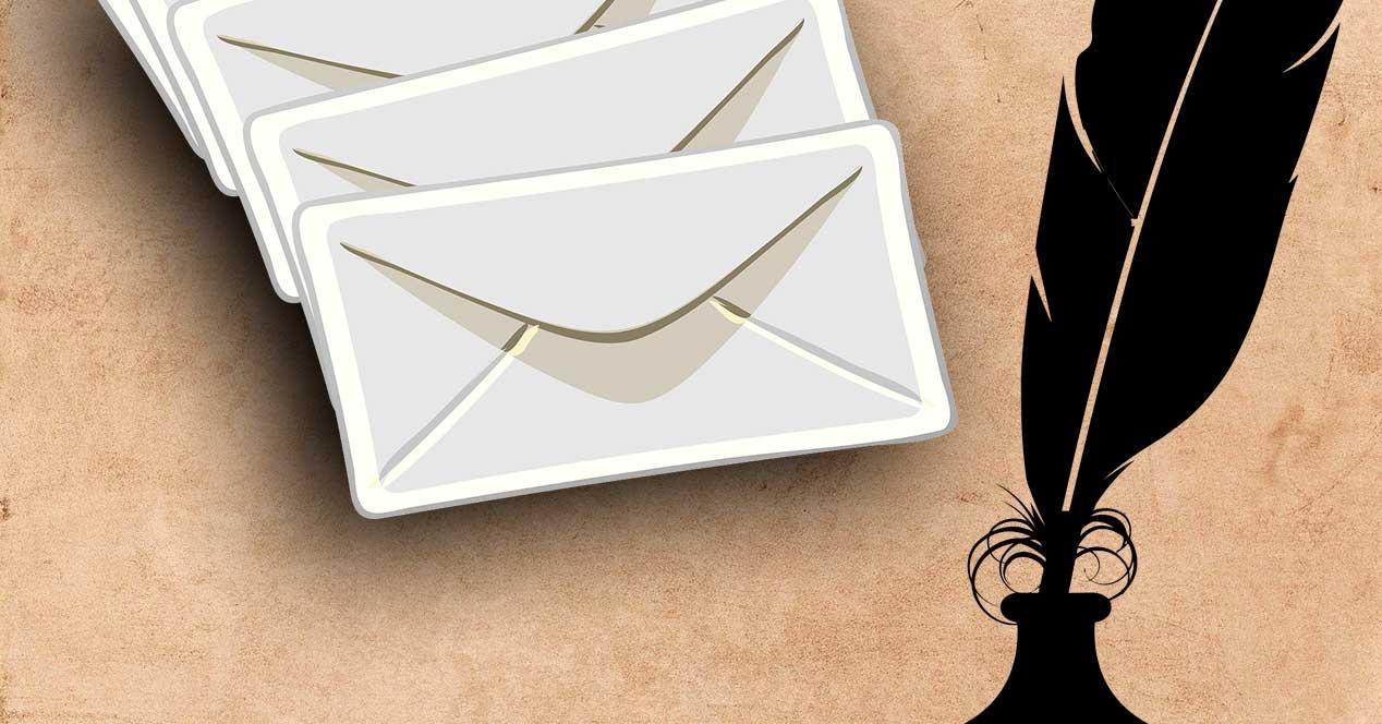 Cuentas de correo cerradas