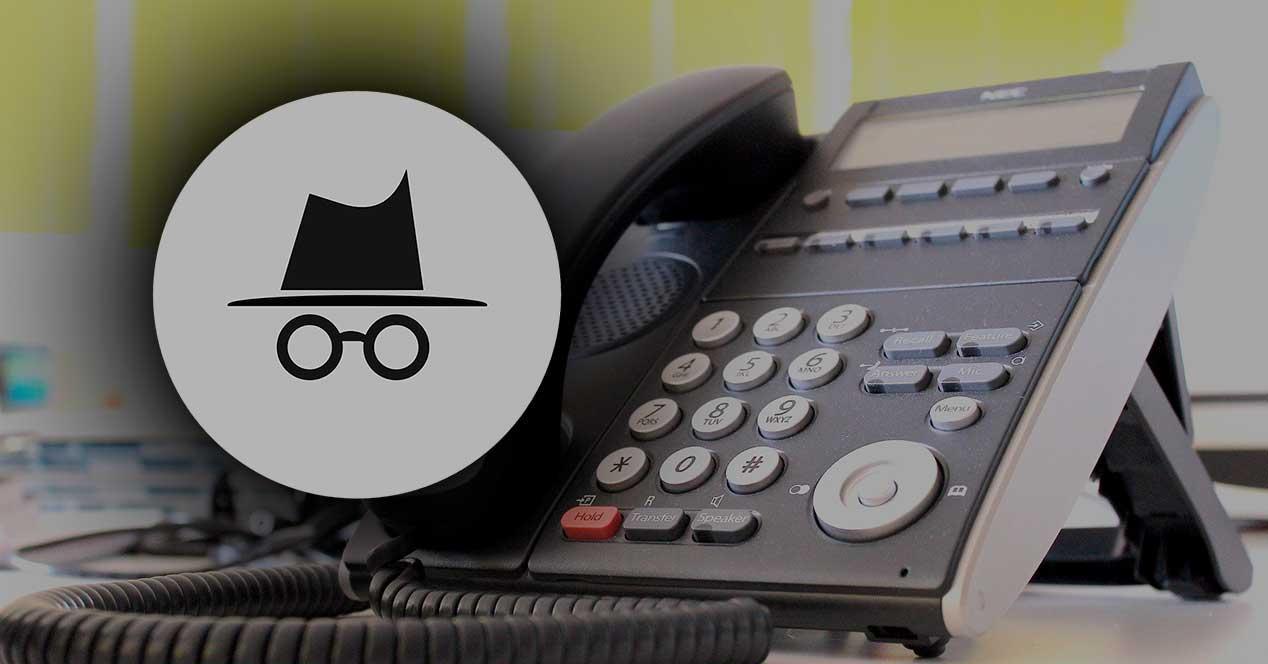 Llamar con número oculto (2)