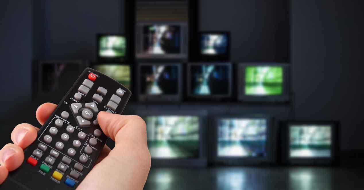 Mandos universales para television