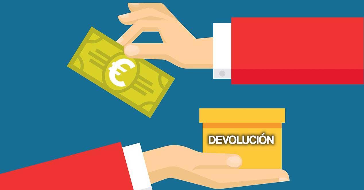 devolucion españa