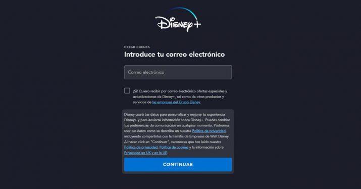 Pasos para suscribirse a Disney Plus