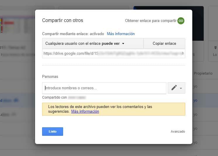 enviar archivos grandes con Google Drive