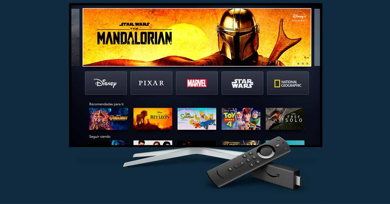 fire tv disney+