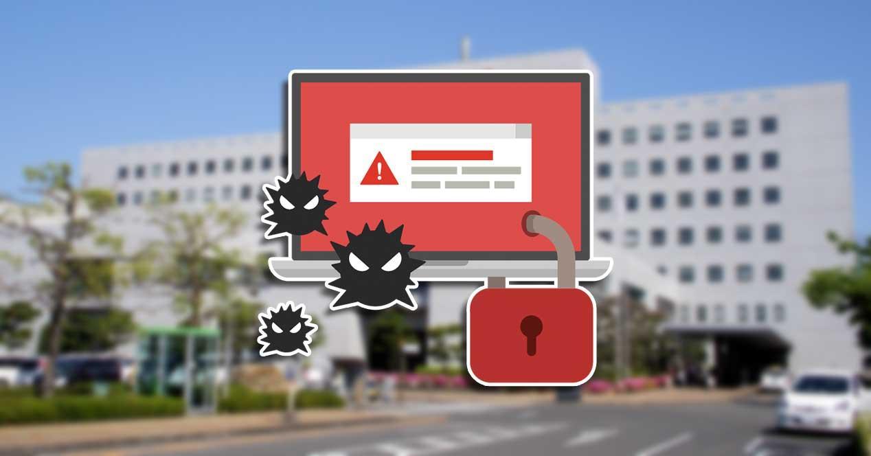 hospital malware ransomware