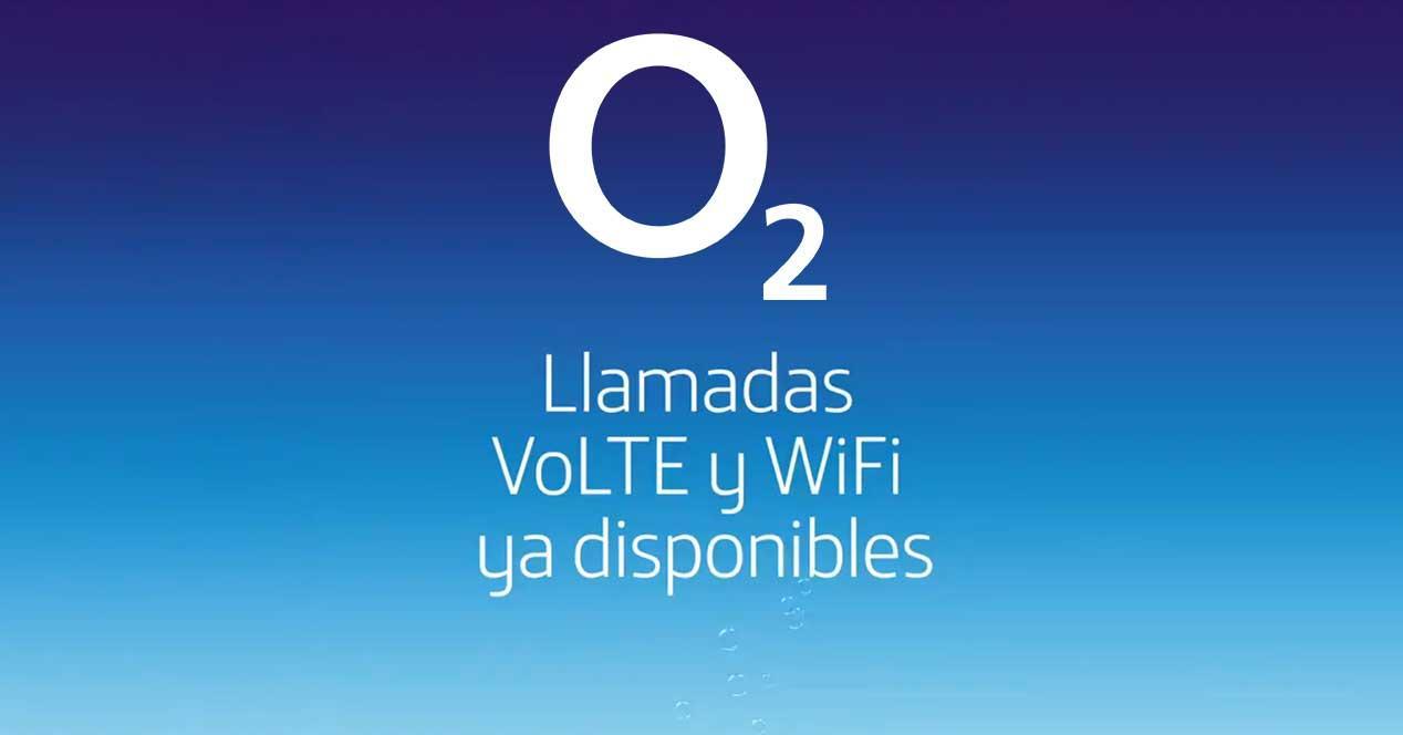 o2 llamadas wifi volte vowifi