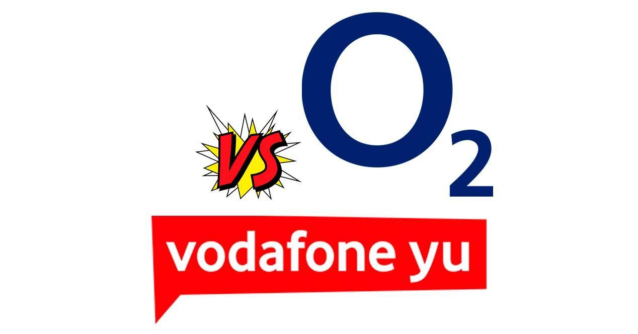 o2 vs vodafone yu