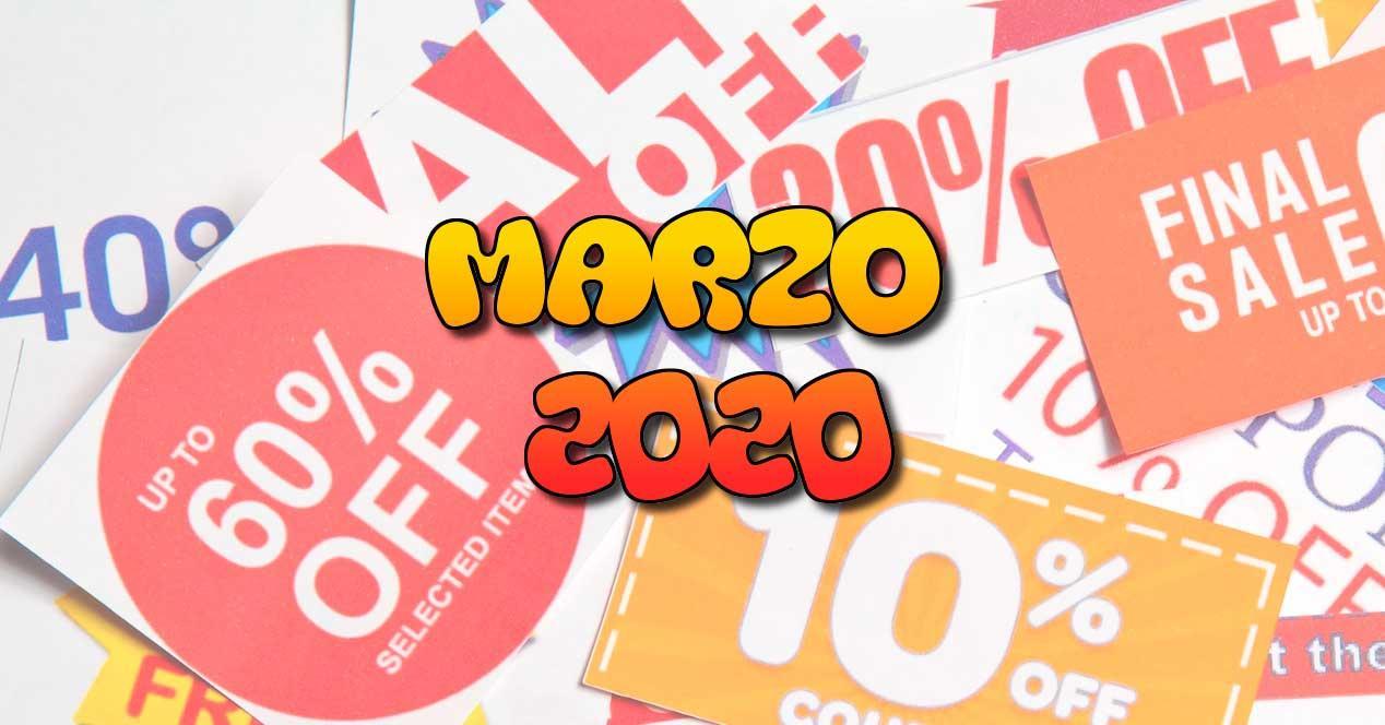 ofertas marzo 2020