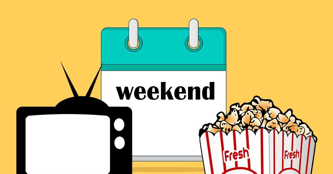 Series para ver en un fin de semana